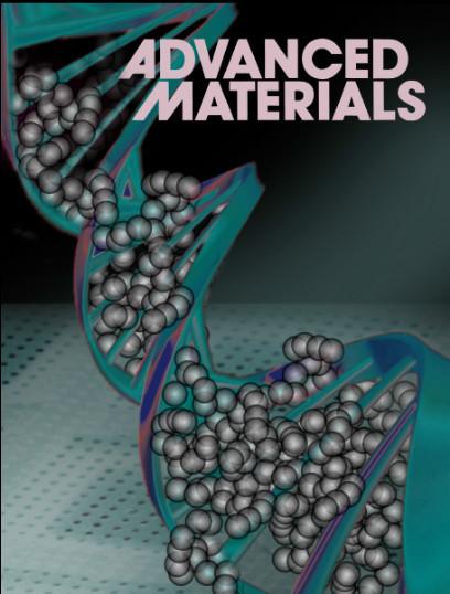 Обложка журнала Advanced materials